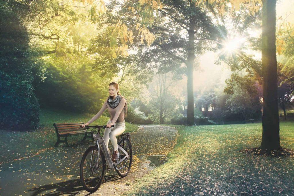 Aktivität auf dem E-Bike|BESV
