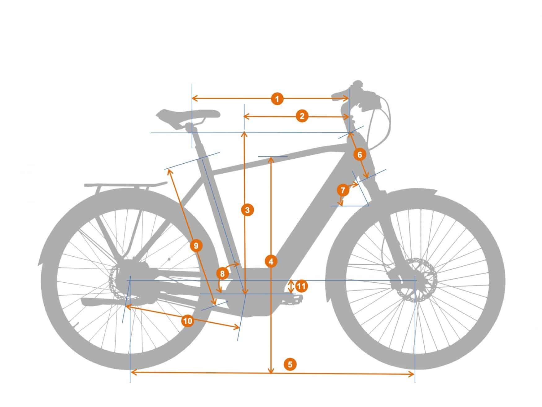 city e bike CT 1.1 frame|BESV