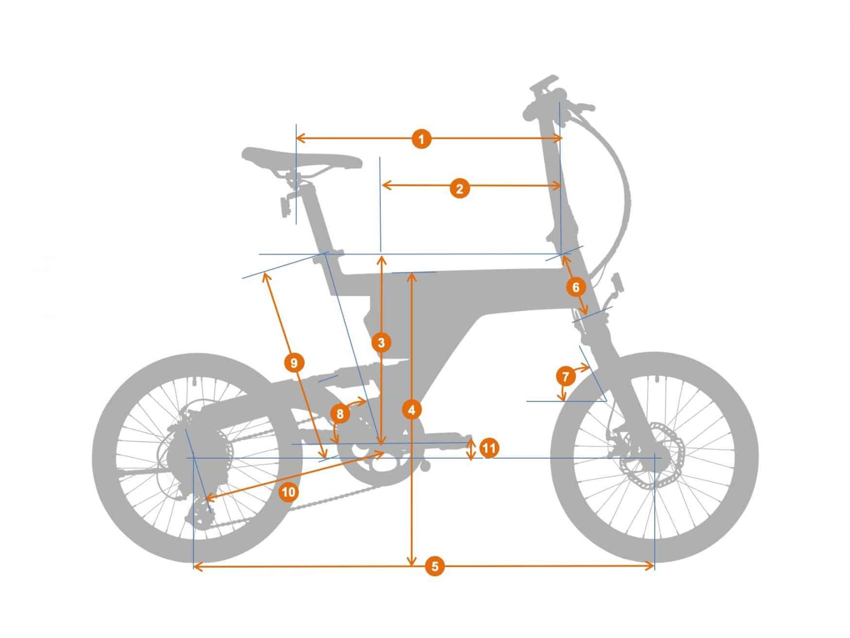 City folding e-bike PSF1 |BESV