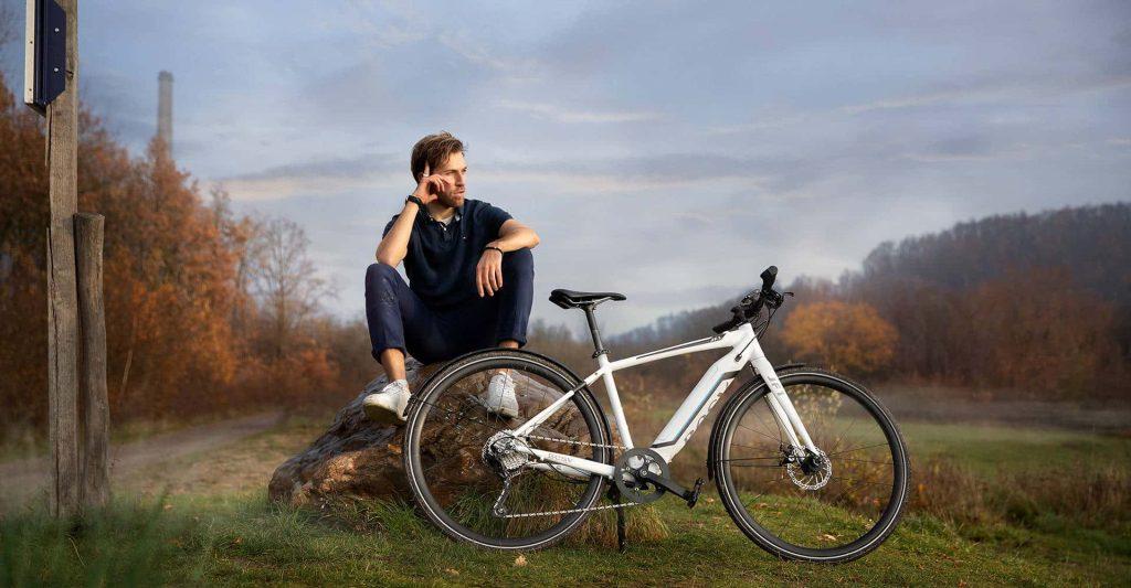 electric bike healthier than regular bike|BESV